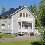 peinture façade Kiruna Grå