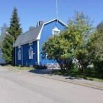 peinture facade bleu