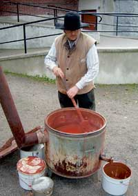 pigments couleur terre