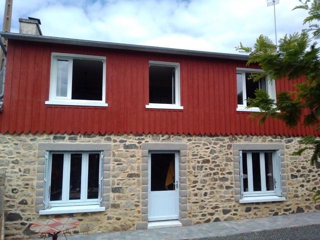 peindre la maison en rouge